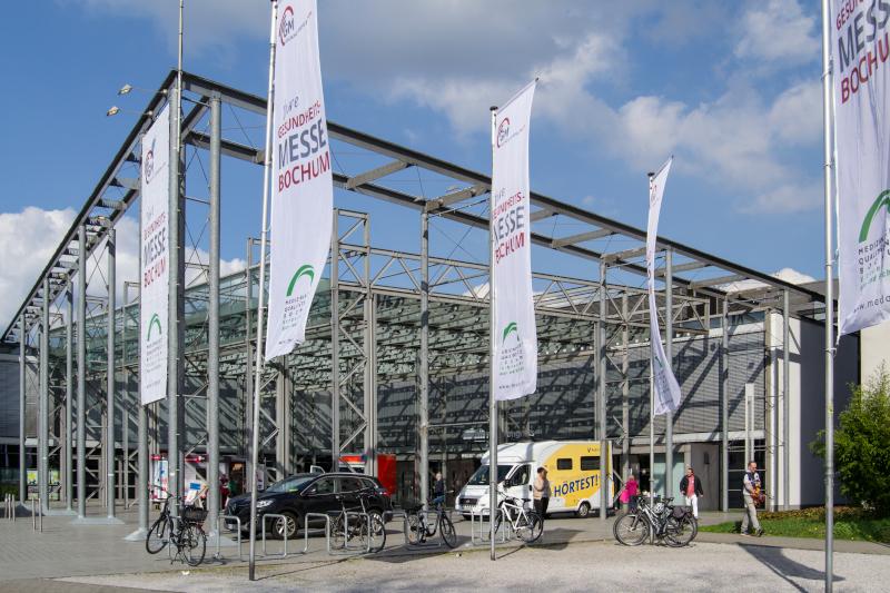 6. Bochumer Gesundheitsmesse 2. April 2017 RuhrCongress Bochum. Foto Werner Conrad