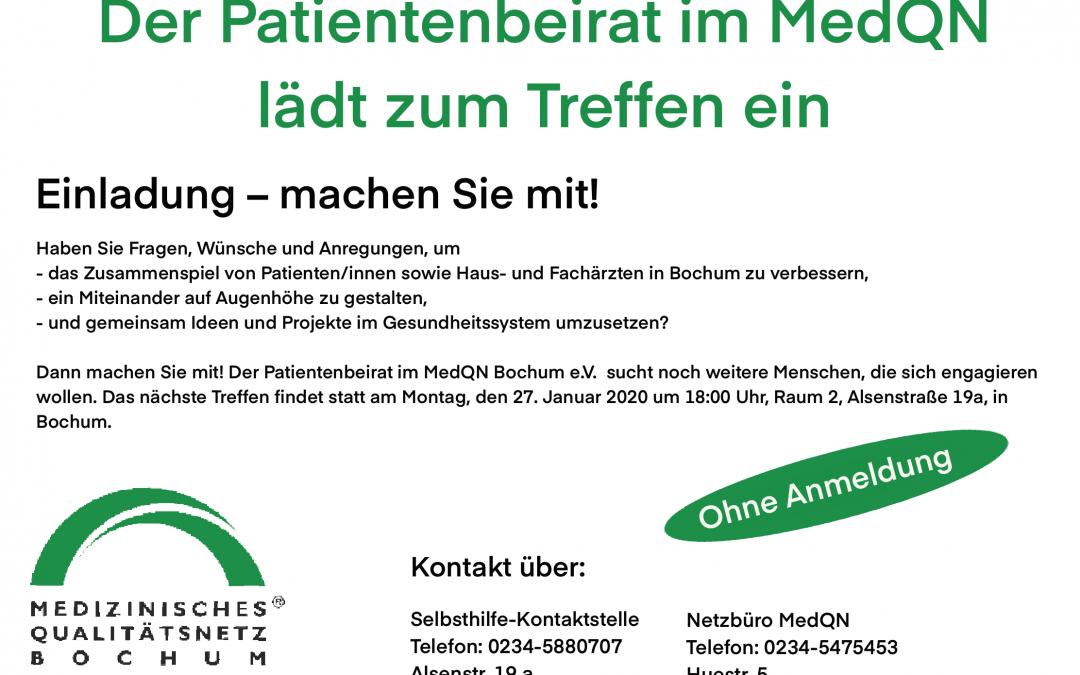 Der Patientenbeirat im MedQN –Vermittler zwischen Patienten und Ärzten