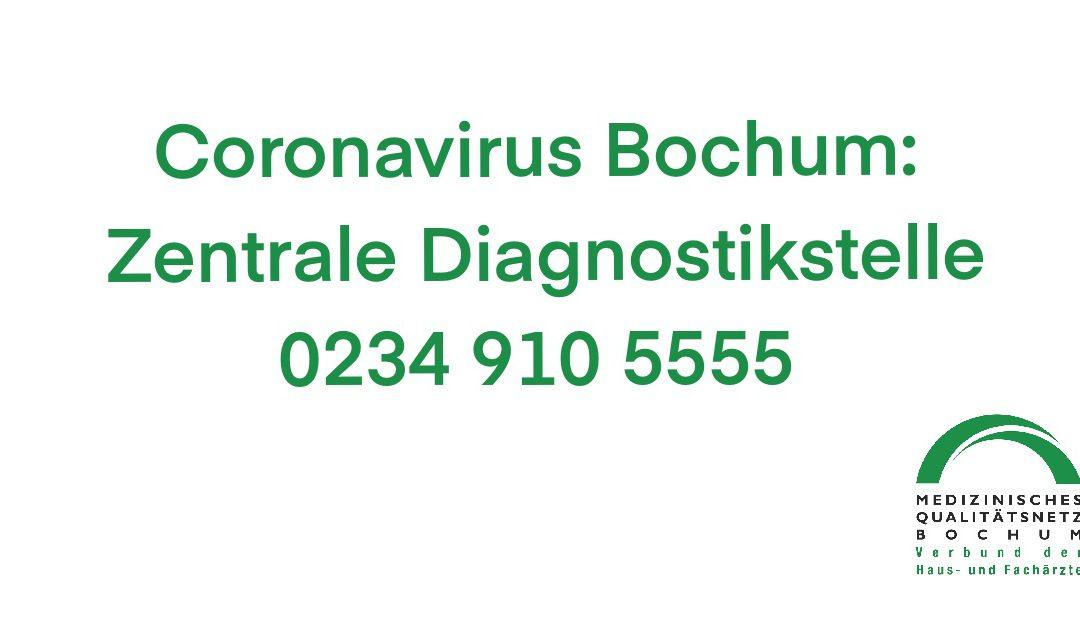 Coronavirus Bochum: Zentrale Diagnostikstelle hat ihren Dienst aufgenommen