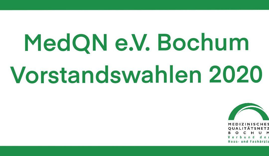 MedQN e.V. Bochum: Vorstandswahlen 2020