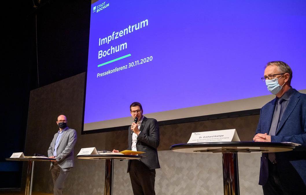 RuhrCongress soll Impfzentrum werden
