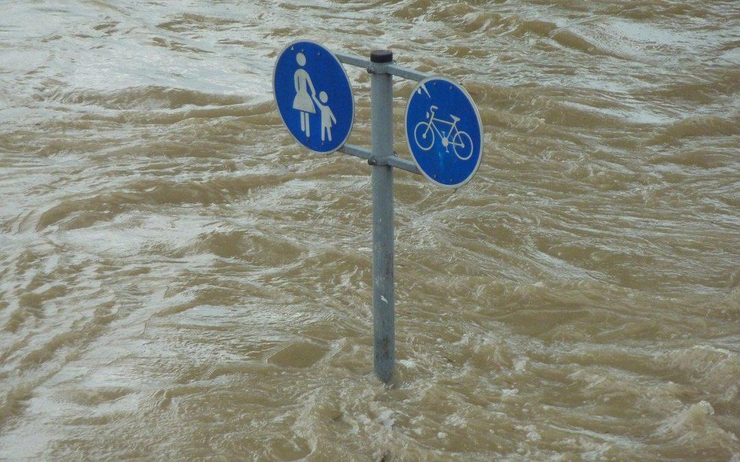 Coronapandemie in der Flutkatastrophe