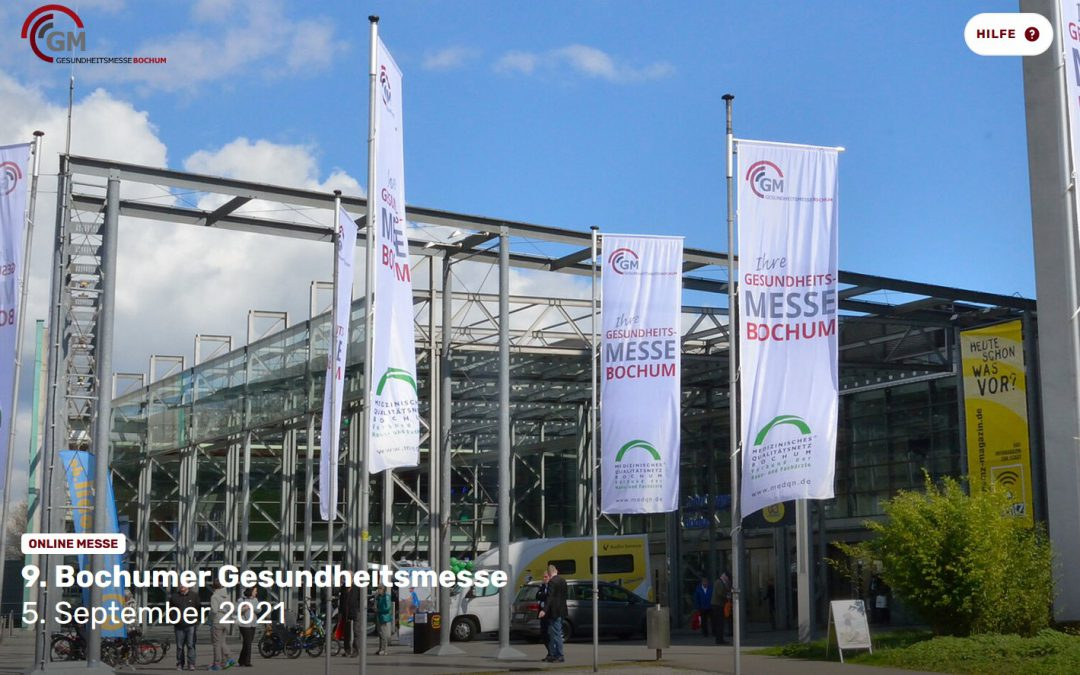 5. September 2021: 9. Bochumer Gesundheitsmesse virtuell