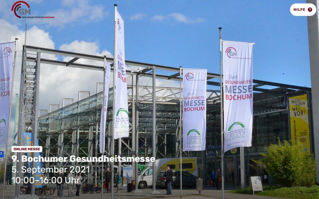 Neustart virtuell: Die 9. Gesundheitsmesse Bochum am 5. September im Internet
