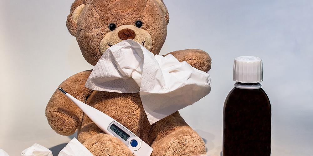 Erkältungswelle trifft viele Kinder